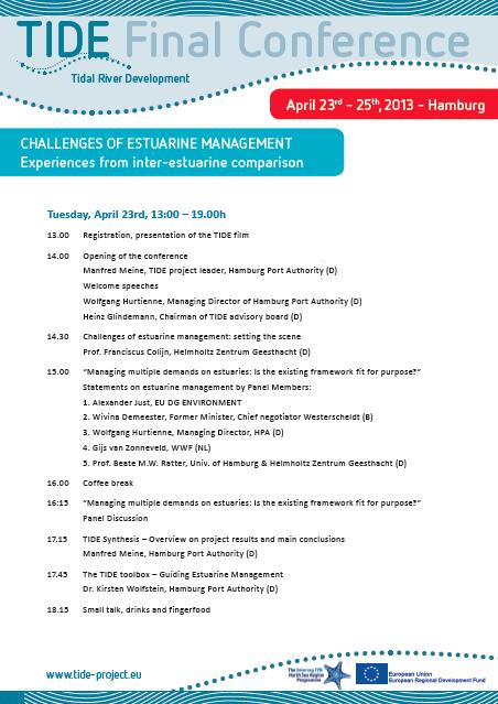 TIDE Home – Conference Agenda