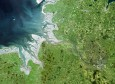 Elbe from space ( Brockmann Consult, Common Wadden Sea Secretariat 2003)
