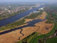 Aerial view of the Weser River ( NLWKN?)